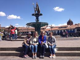 Plaza De Armas...can't believe we were actually here. , Katija M - January 2015