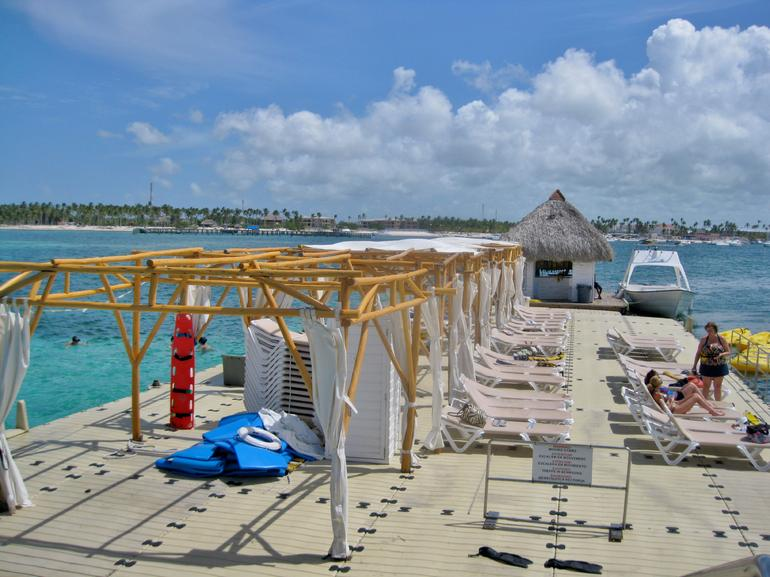 The dock - Punta Cana