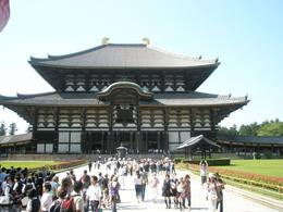 The temple of Buddha in Nara. - June 2008
