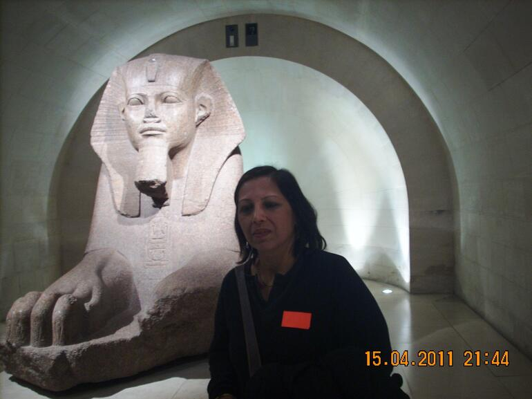 Two sphinxes - Paris