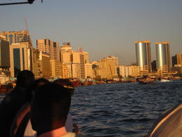 Cruising along the Dubai Creek to the Souks , Catherine C - December 2010
