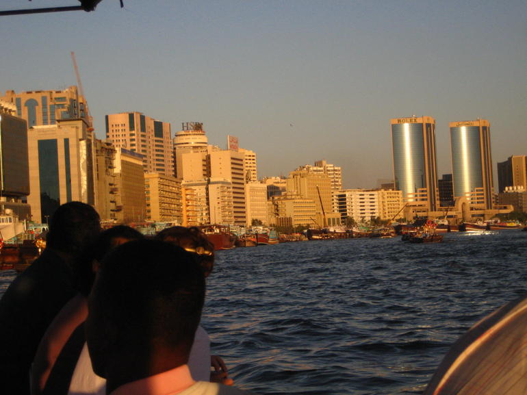 View from the Abra or water taxi - Dubai