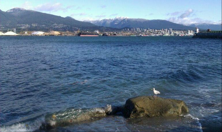 View from the north side of Stanley Park - Vancouver