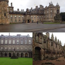 Palace of holyroodhouse , Nidia D - October 2016