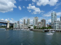 From Granville Island on False Creek to downtown Vancouver, BC , Lynn G - July 2017