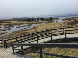 Looking toward the place where Iceland's first parliament met in the 900s , James R P - August 2017