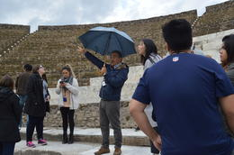 Enzo our tour guide with amazing explanations , christinemiller - November 2017