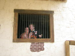 Locked up at the ranch! , Andrew M - September 2011