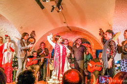 Our first rendezvous with a Flamenco performance , anrao - April 2015