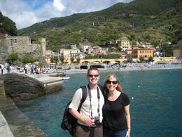 Here we are arriving at the 5th village of Cinque Terre!, Cynthia W - October 2009