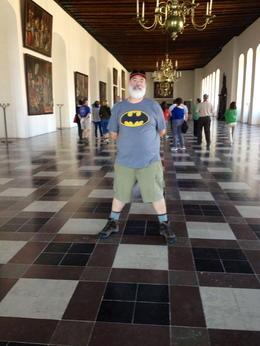 John Thomas, English teacher at Diablo Valley College, Pleasant Hill, vists Hamlet Castle. , John T - June 2013