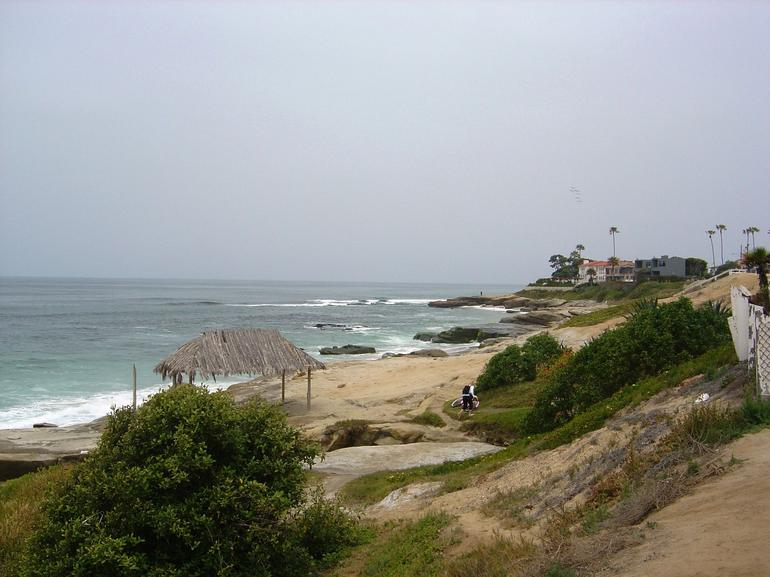 Beach in La Jolla - San Diego