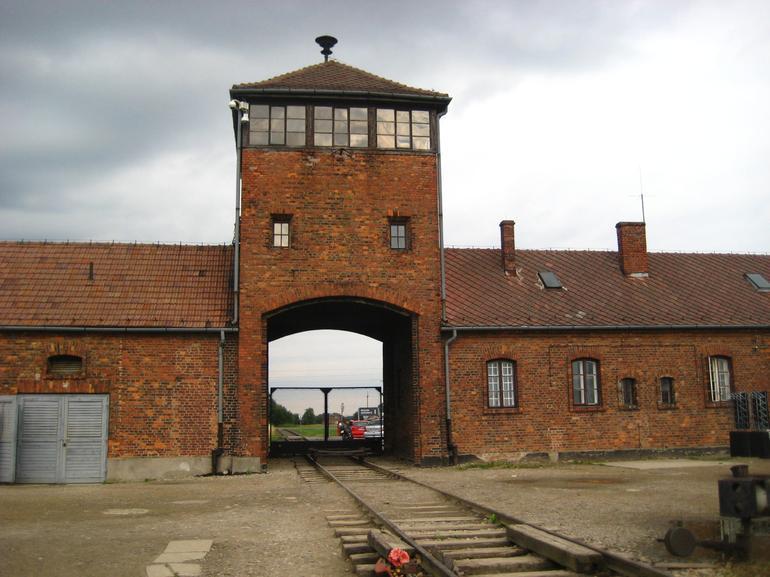 Birkenau Train Tracks - Krakow