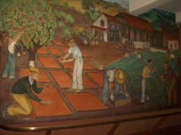 Coit Tower Mural 7 - continuation of farm worker scene, orange groves of Central or Southern California, skigirlsf - December 2011