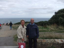 Mario and Anna at Dublin Bay during the Dublin Bay and Malahide Castle Half-Day Tour , Mario S - October 2013