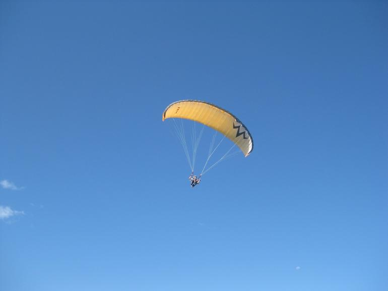 Hang Glider at Bald Hill -