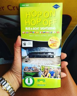 It was raining when I took the hop on hop off bus. Good thing there's a free wifi on board. , Bonna R - September 2015