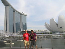 my friend from Manila and me from Sydney joined together to explore the beauty of Singapore.. , Roderick A O - September 2012