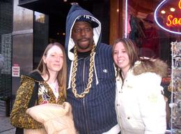 Me, Grand Master Caz and Kerry after the Hip Hop tour in NYC. - November 2007