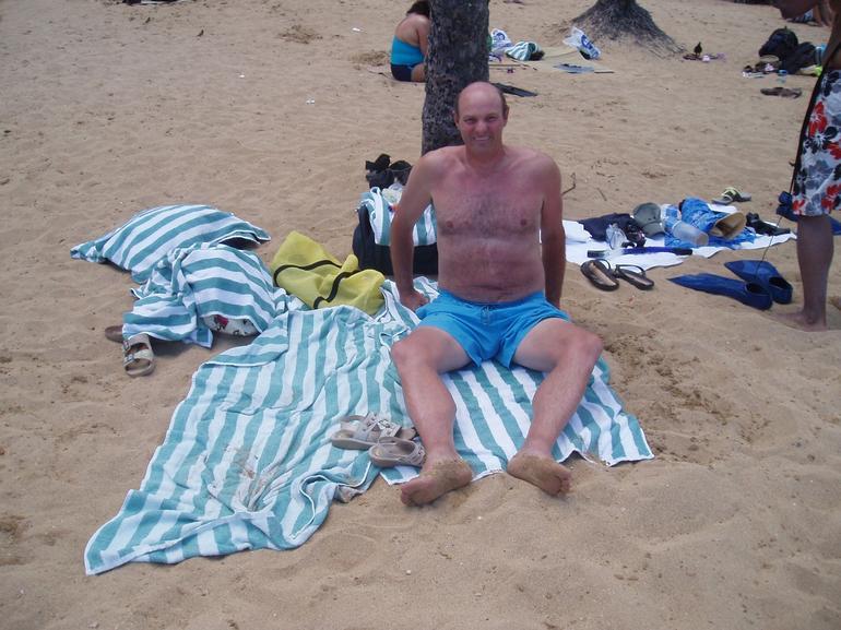 Me on the Beach at Hanauma Bay - Oahu