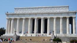 Visita ao monumento a Abraham Lincoln , Daniela S - September 2013