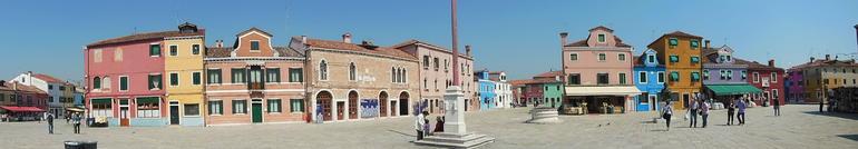 Piazza in Burano - Venice