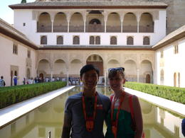 The classic Alhambra photo, Laura All Over - August 2014