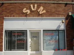 This photo was taken outside Sun Studio. This was a very interesting tour. If you are a budding singer or not, do a once in a lifetime thing and cut a record at the studio for about 30 dollars., Carol D - October 2008