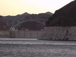 We got to see the Hoover Dam from the dinner cruise it was amazing., LA_Amons - August 2014