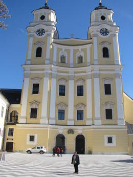 The Mondsee Cathedral where the wedding took place. , Phillip S - March 2014