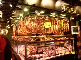Touring the food market in Barcelona, Spain. , Lynn H - November 2014