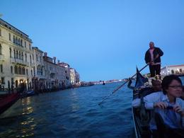 Twinkling lights on the Grand Canal, Jonathan B - October 2010