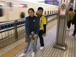 Excited to take their first Shinkansen-ride back to Tokyo! 3 , TJ R - January 2017