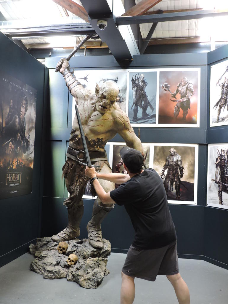 Wellington's Half Day Lord of the Rings Tour (including Weta Tour) photo 8