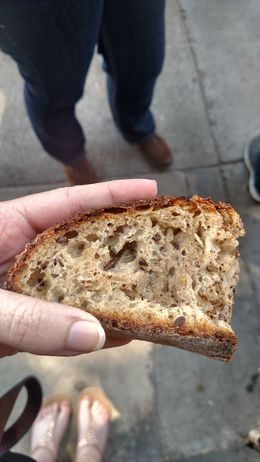 Good seedy bread from The Mill. Worth it for $4 toast!, Emily G - August 2015