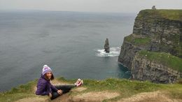 Cliffs of Moher , Florentina I - September 2015