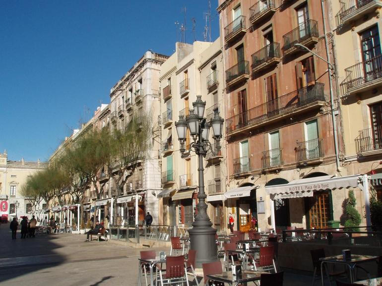 Courtyard - Barcelona