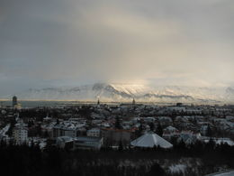 This is the view from Perlan, which is a restaurant which sits on top of the geothermally heated water tanks which hold the hot water that supplies the whole of Reykjavik. , Jeffsmith182 - February 2015
