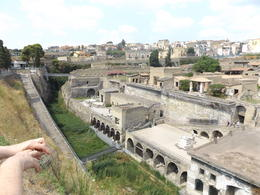 As you descend to Herculaneum, you get a super view of the entire area. , Deborah M - August 2016