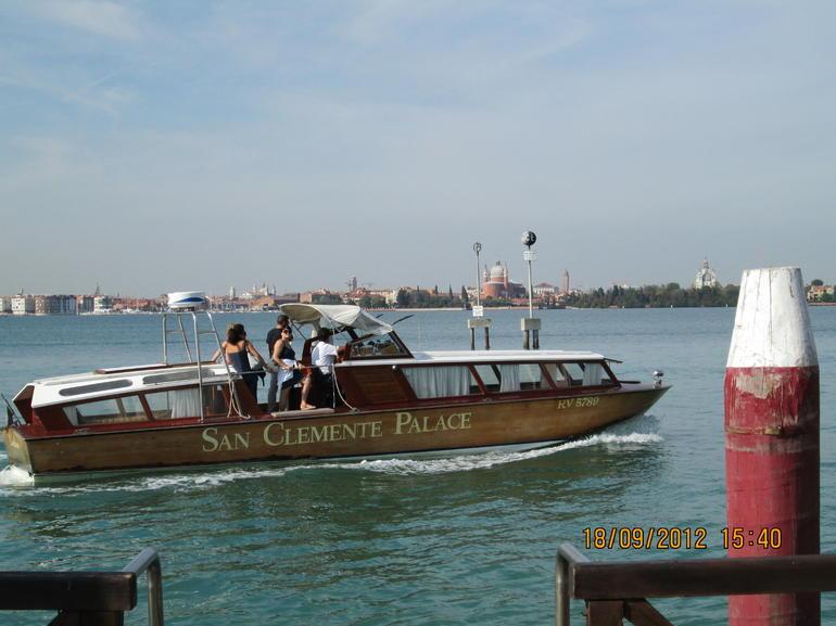 Hotel courtesy boat - Venice