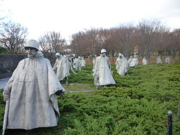 This was probably one of my favorite memorials. They looked so real!, Irene - November 2012