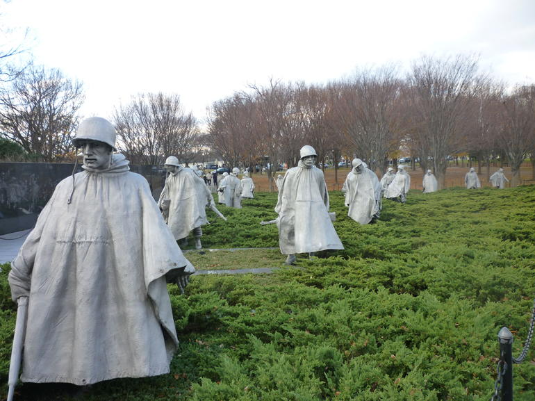 Korean War Veterans Memorial - Washington DC
