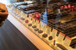 Varieties of chocolates at Maison du Chocolat , s.marsky - May 2016