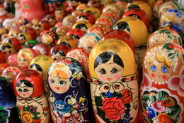 A dose of Russian folklore: Matryoshka dolls - July 2011