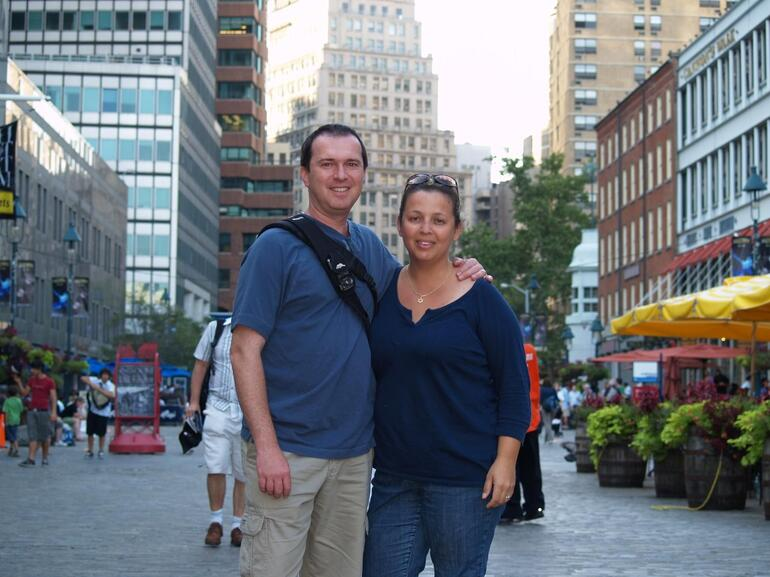 My husband and I - New York City