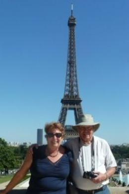 Paris is ALWAYS a great city to visit, again, and again! The 2 of us from Florida, enjoying the view from and quot;down below and quot;. , Arlene C - July 2012