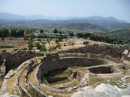 Part of Citadel of Mycenae- Not that much to see in this ruin. The gateway was the most interesting. Walk to the top is not hard- very windy and panoramic views., Susan Zee Yeeh L - May 2010