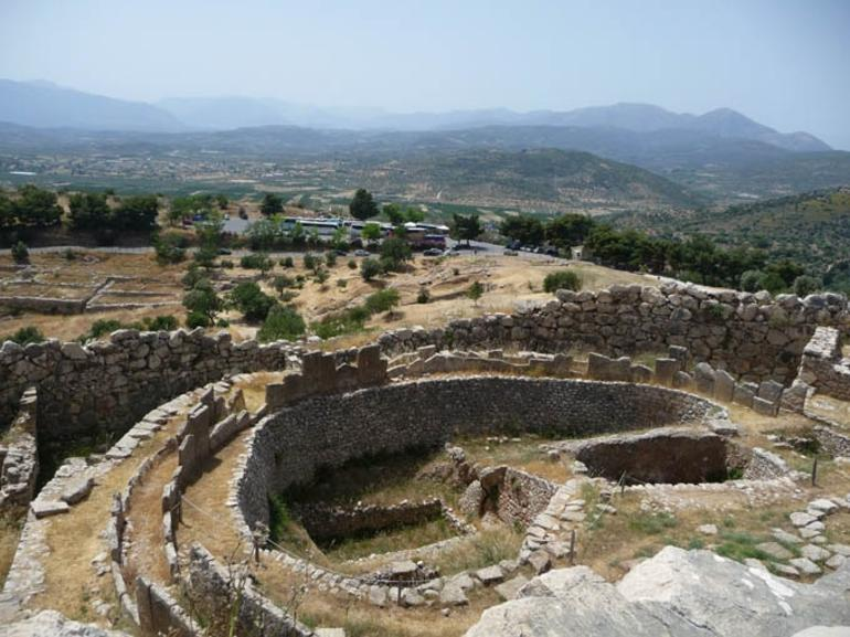 Part of Citadel of Mycenae - Athens
