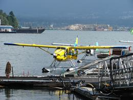waiting to board the seaplane, Douglas S - July 2010