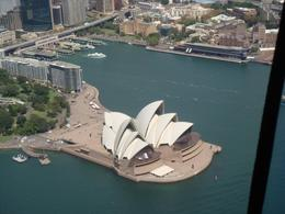 Sydney Opera House from the helicopter. - March 2008